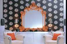 Enlivened Antique Looking Glasses - Creazioni Baroque Mirrors Brighten and Refresh Historical Styles