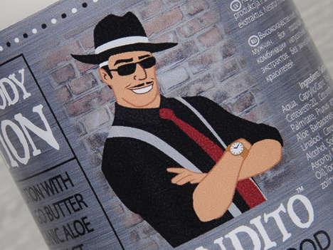 Mobster Toiletry Merchandizing