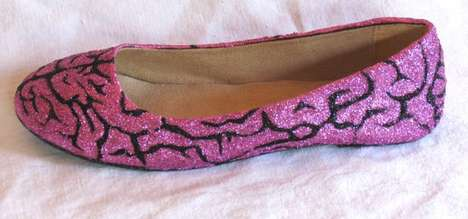Gruesome Sparkle Flats