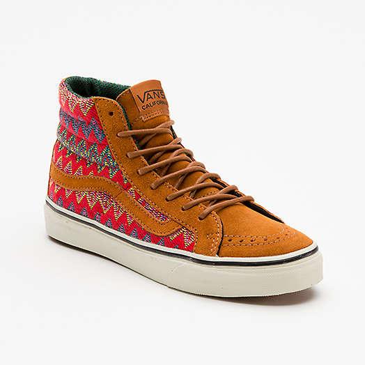 Aztec Moccasin Hybrid Shoes : Vans Sk8-Hi Sneaker
