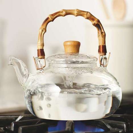 Spiritual Glass Teapots