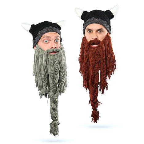 Instant Facial Hair Toques