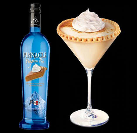 Sweet Pie-Inspired Alcohols