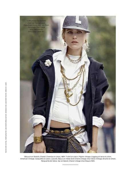 Big Apple Cityscape Fashion