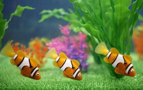 Carefree Robotic Pet Fish - Enjoy Aquatic Critters without the Responsibility with Robo-Fish