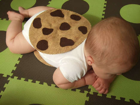 DIY Infant Dessert Ensembles - This Felt Cookie Costume Fixes as the Perfect Baby Get-Up