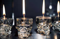 DIY Skull Lamps - The Luxirare 'Candlelight' Post Comes Just in Time for Halloween