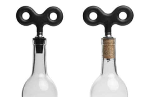 Wind-Up Wine Openers