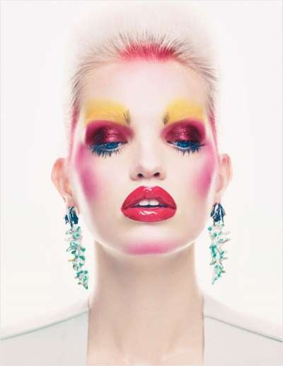 Clown Cosmetic Photoshoots