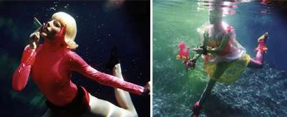 Top 29 Underwater Innovations, From Deep Sea Golf to Fashion Photography