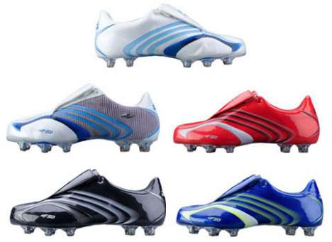Customizable Hi-Tech Soccer Shoes - Adidas F50 TUNiT