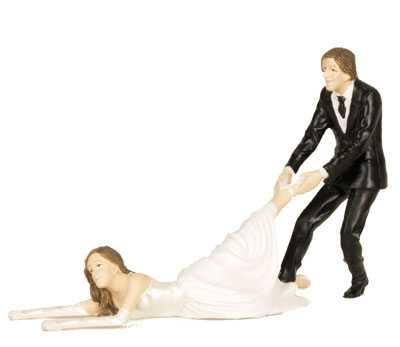 Offbeat Wedding Cake Toppers