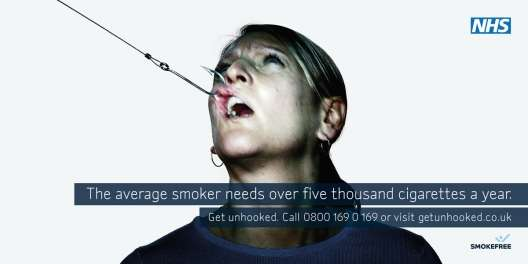 Shockvertising Smokefree Campaign