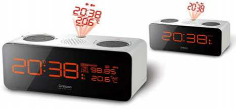 Projector Alarm Clocks - Shine Time on the Ceiling