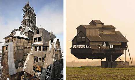 Gravity Defying Houses - Daring Architecture
