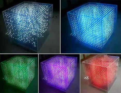 3-D Display Cubes (UPDATE)