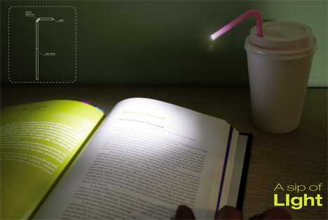 Straw Lamps