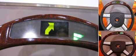 GPS Steering Wheels