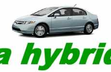 Green Rentals - Enterprise Rent-A-Car Launches Hydrid Car Fleet