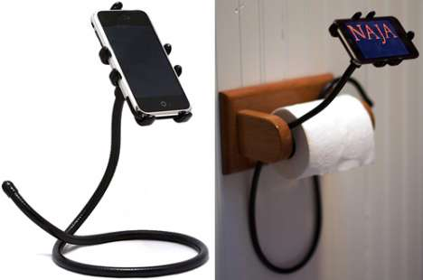 Hands-Free Toilet Phones