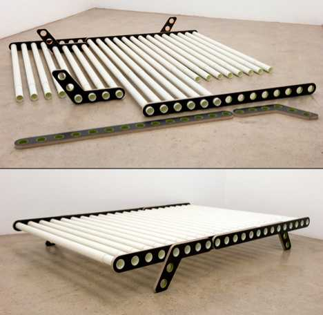 Adjustable & Collapsible Bed - The Delta Bed