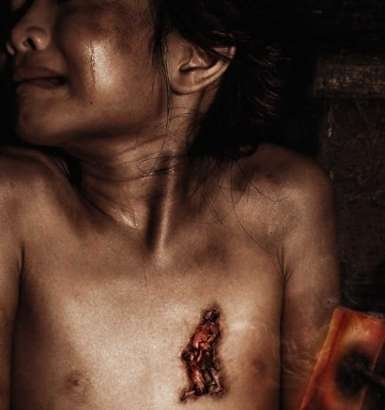 Cattle Branding Kids - Shocking Ads Portray Impact of Child Abuse