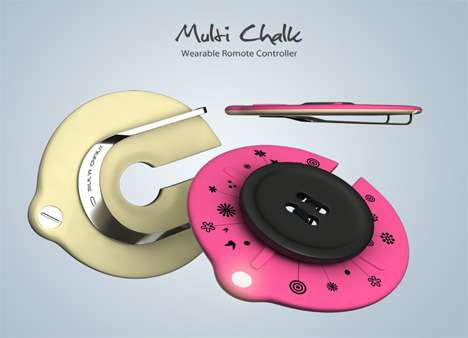 Wearable Universal Remote Controls - The Multi-Chalk