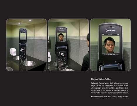 Guerrilla Mirror Phones