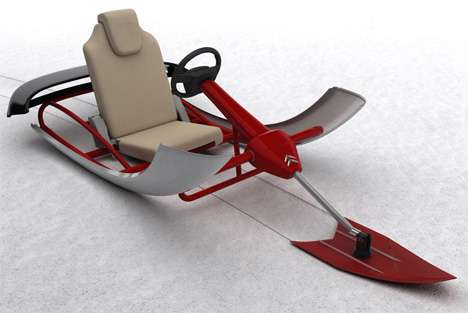 Citroen Design Competition - Citroen Sledge Wins C-Design Contest