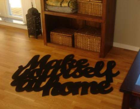 Typography Rugs