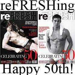 Quadruple Magazine Covers II - reFRESH 50th Edition