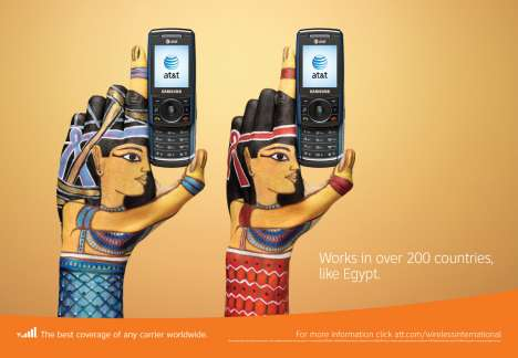 Cultural Handvertising - AT&T Campaign