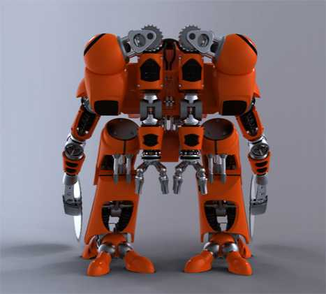 Fire Fighter Robots