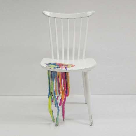 Bleeding Paint Chairs