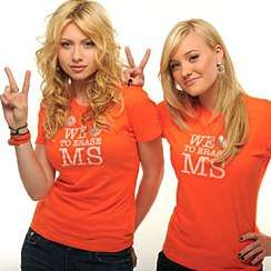 Awareness Through Fashionable Celebs - Tommy Hilfiger, Aly & Aj for MS