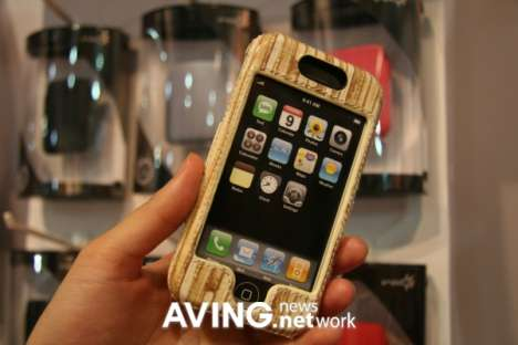 Wood Gadget Cases - Wanxinda iPod Case