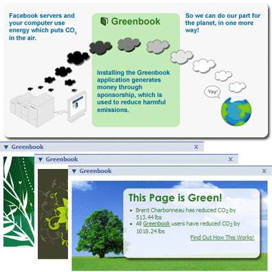 Facebook Goes Green