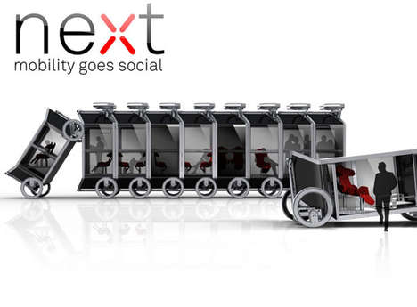 Boxy Reconfigurable Cars - The Next Modular Self-Driving Vehicle Increases Transport Efficiency