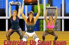 Geeky Gamer Fitness Videos - The Gamer Fit Exercise Videos Mimics Moves From Popular Games
