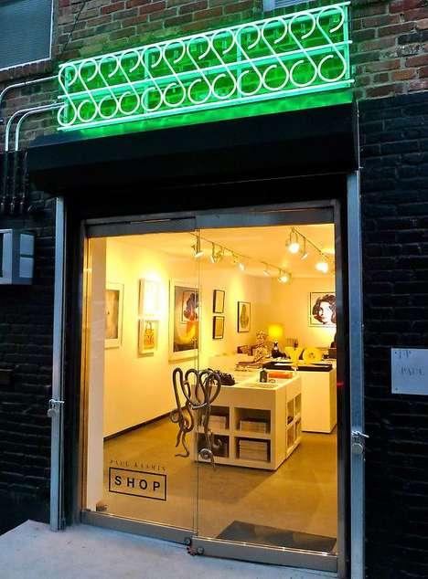 Art Gallery-Inspired Shops