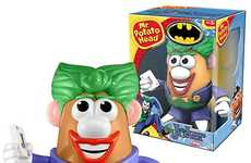 Villainous Spud Toys - The Batman Joker Mr. Potato Head is Wickedly Humorous