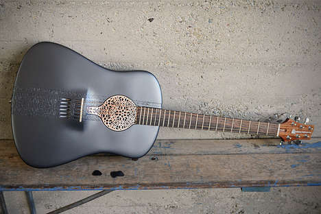 The 3D Print Acoustic Guitar by Scott Summit is Highly Progressive