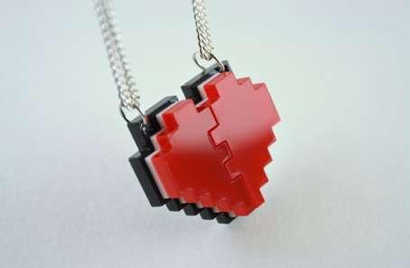 Pixelated Gamer Jewels