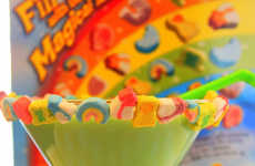 Breakfast Cereal Cocktails - The 'Doo-Dah' Magically Delicious Martini is Infused with Lucky Charms