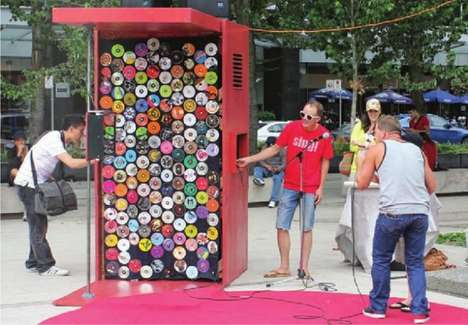 City Street Sing-Alongs - The Sing! Karaoke Kiosk Brings Vancouver's Varried Residents Together