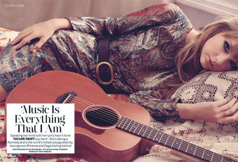 Musician-Centric Cover Shoots