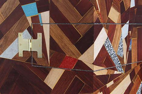 Fragmented Wood Storage Units