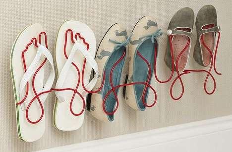 Toed Footwear Displays