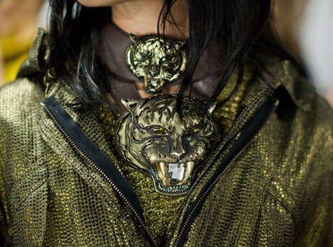 The Lanvin 'Pandora' Collection Pays Homage to Fierce Tigers