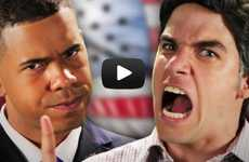 Election Candidate Rap Battles - Epic Rap Battles Gives us a Fresh Look at the Presidential Debate